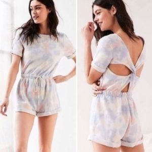 Urban Outfitters tie dye shorts romper M